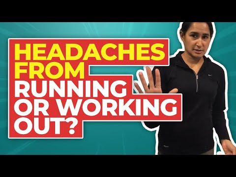 Headaches with Running or Working Out What's Causing it?