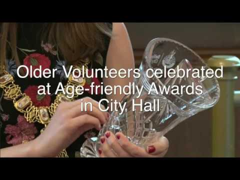 Older Volunteers celebrated at Age-friendly Awards in City Hall