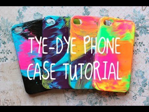 Diy Tye Dye Case Tutorial Super Easy Youtube