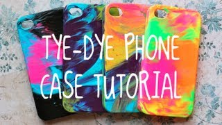 Diy Tye Dye Case Tutorial! (super Easy!!)