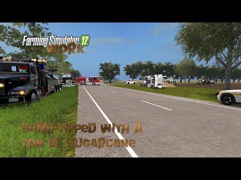 Farming Simulator 17 Work Semi Tipped With A Ton Of Sugarcane