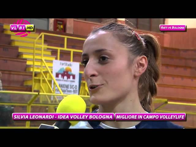 Interviste Rieti vs Bologna