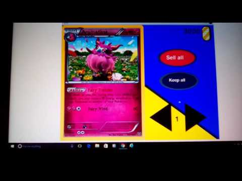 Opening pokemon cards!!! On scratch???