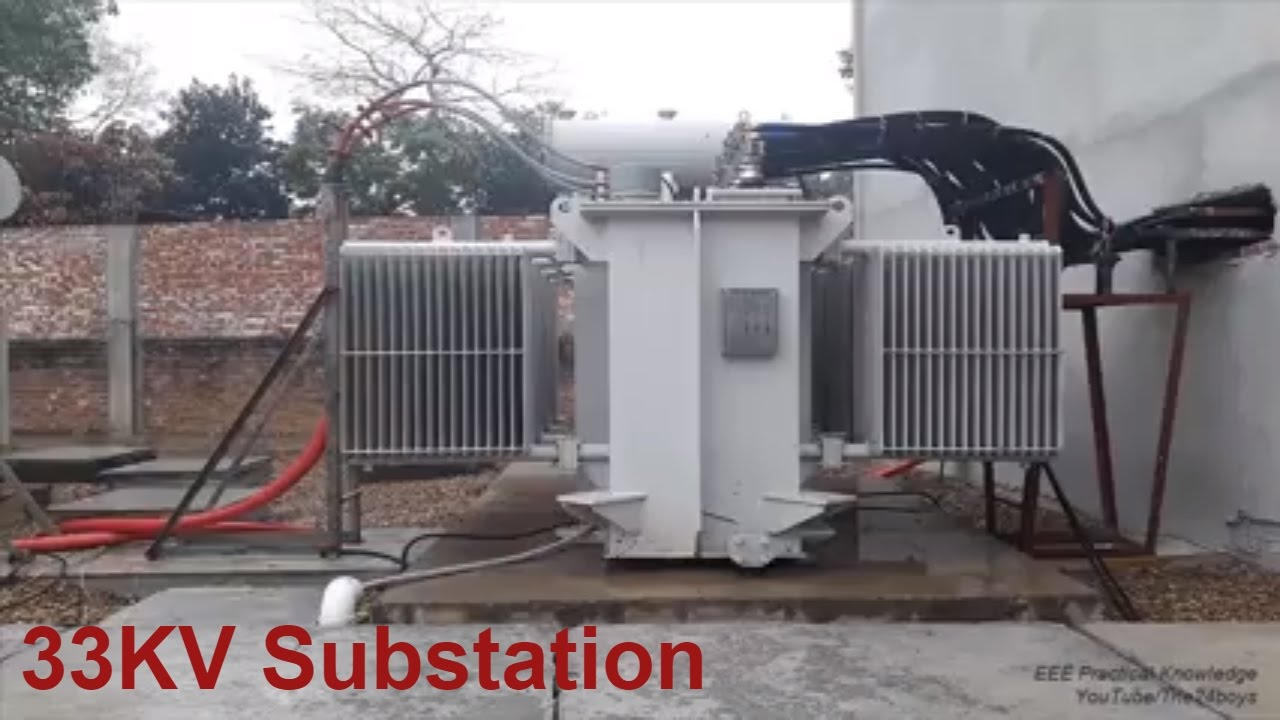 Electrical Substation 33 11kv Amp 11 0 4kv Step Down Auto