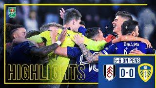 Фулхэм  0-0  Лидс Юнайтед видео