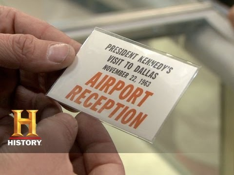 Pawn Stars: JFK Luncheon Invitation | History
