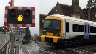 *Faulty Alarm* Aylesford Village Level Crossing, Kent