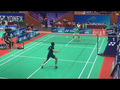 Ciputra Hanoi Open 2019 | Trận đấu đơn nam Hải Đằng (HCM) - Santi ( Ấn Độ) | Badminton Ciputra Hanoi