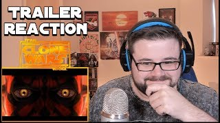 Star Wars: The Clone Wars | Official Trailer | Reaction