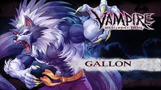 Vampire (Darkstalkers) Chronicle - Gallon (Talbain) Gameplay - Dreamcast