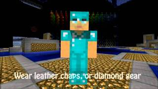 Repeat youtube video Minecraft: Form This Way: Parody of