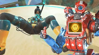 Saving my Waifu from all the SWEAT in Apex Legends