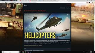 War Thunder - Upcoming Content - Combat Helicopters! (+ Heli-FAQ)