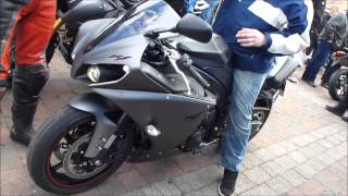 Yamaha YZF-R1 Sound 998 ccm 182 Hp 285 Km/h 177 mph * see also Playlist