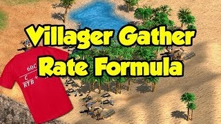 Villager Gather Rate Formula