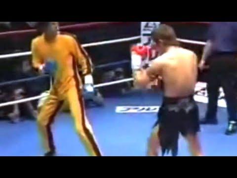 Брюс Ли (Джит Кун До) против Тайского Боксёра | реальный бой