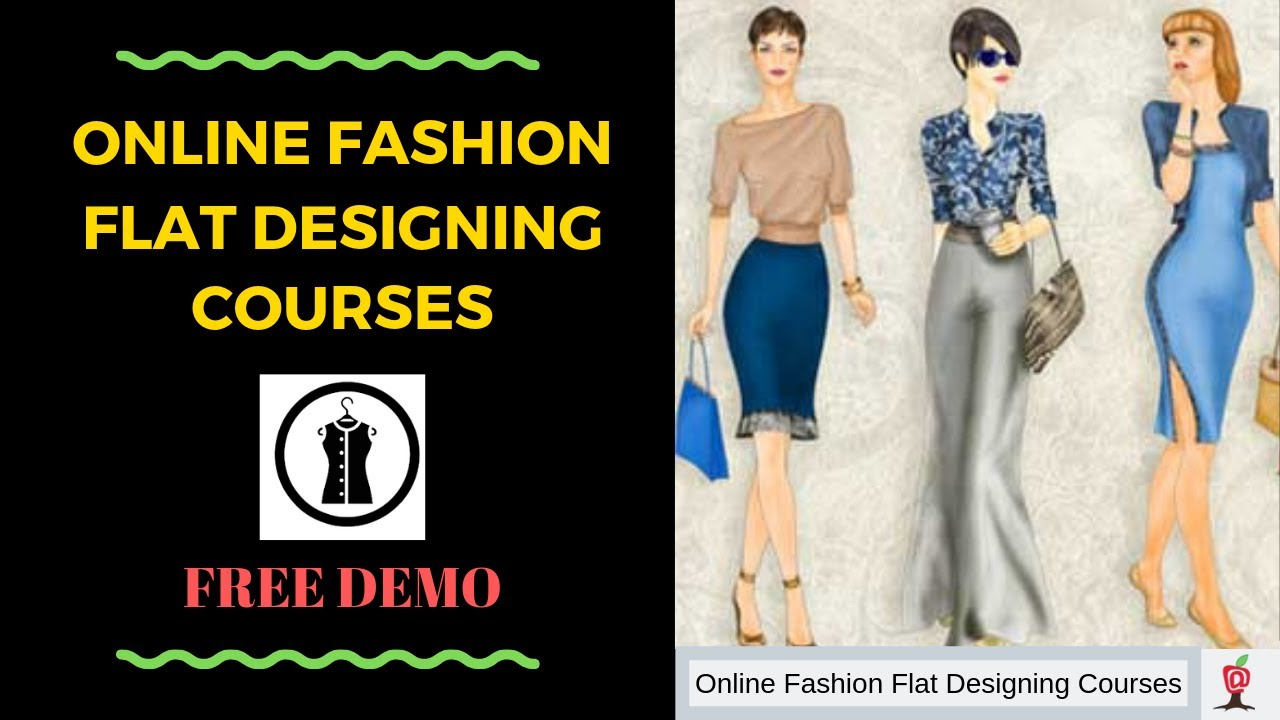 Online Fashion Design Courses For Beginners Cad Free Demo Class Introduction 01 Youtube