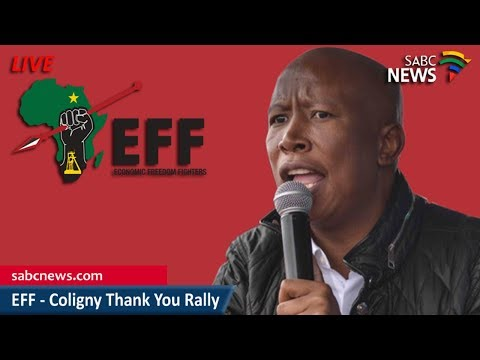 EFF Coligny Thank You Rally, 02 May 2018