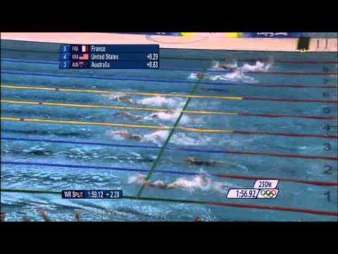 Bud Greenspan Presents Beijing 2008 America's Olympic Glory Jason Lezak [ Part 2/2 ]