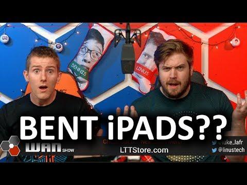 BENT iPad Pros... :( -  The WAN Show Dec 21 2018