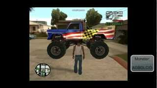 GTA San Andreas Fahrzeug-Cheats PC