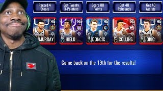 *NEW* 95 OVR MASTERS IN RESOLUTIONS PROGRAM & PACK OPENING! NBA Live Mobile 19 Season 3 Ep. 36