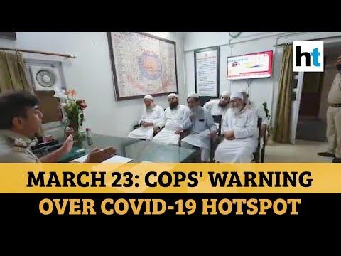 Covid-19: Delhi Police Releases Video Of March 23 Warning Over Nizamuddin Markaz