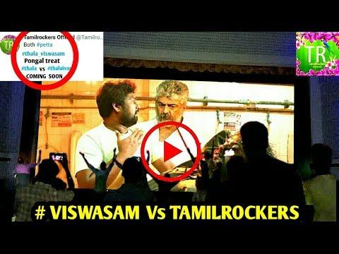 வெளியான VISWASAM இனையத்தில் வெளியீடா ? Tamil Rockers Challenge To Viswasam ! Viswasam Movie ! Ajith