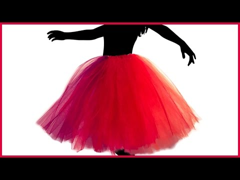 DIY Make Your Own Ballerina Princess Tutu In Two Quick And Easy Steps For Kids