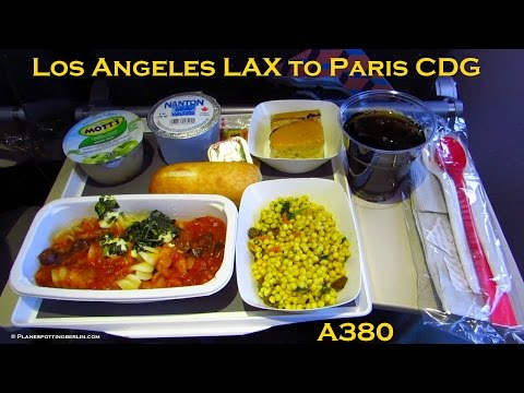 TRIP REPORT | AIR FRANCE Airbus A380 | Los Angeles to Paris | Full Flight (Economy) [Full HD]