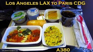 Tripreport | Onboard Air France Airbus A380 | Los Angeles to Paris | Full Flight! [Full HD]