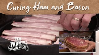 Curing Hams and Bacon in Your Own Kitchen! (Episode #134)