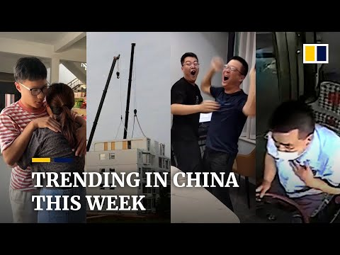 Trending in China: 10-storey building constructed in a day