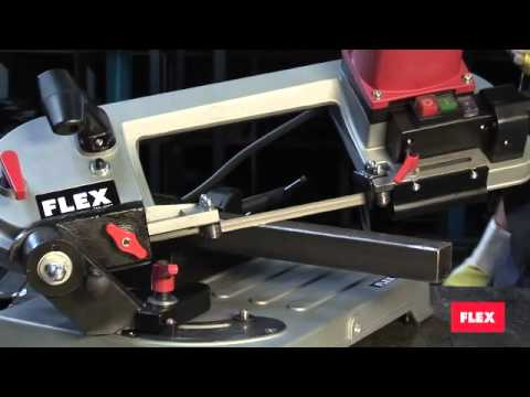 SBG 4908 FLEX Tools Metal Cutting Band Saw