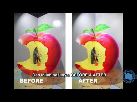 Amazing Art World Bandung - TRIK - Mengolah Hasil Foto Amazing Art World dengan Photoshop