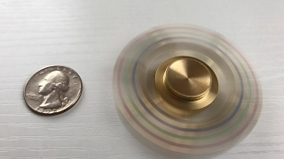 Best Premium Brass Hand Spinner by iSpin | 1080p HD @ 60fps!!