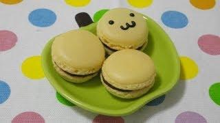 How to make macaroons 初心者の作る 「手作りマカロン」 thumbnail