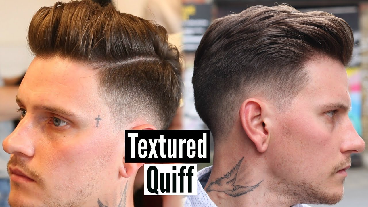 Mens Quiff Hairstyle & Haircut Tutorial