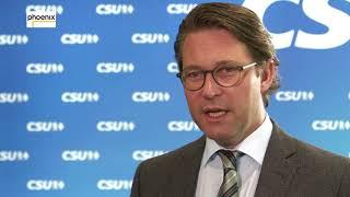 Deutsch-türkisches Verhältnis: Interview mit Andreas Scheuer (CSU) am 25.08.17