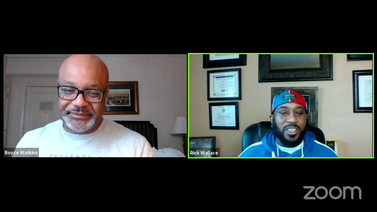Dr. Boyce Watkins Interviews Dr. Rick Wallace: Malik Yoba's Very Interesting Behavior and more!