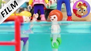 摩比游戏 Playmobil 小电影 阳光幼儿园 小朋友去小尤家游泳玩 展示