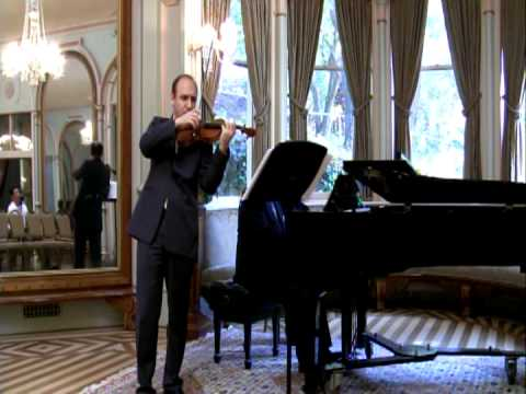 Jassen Todorov & W Corbett-Jones, Schubert Sonata in A Major, part 2