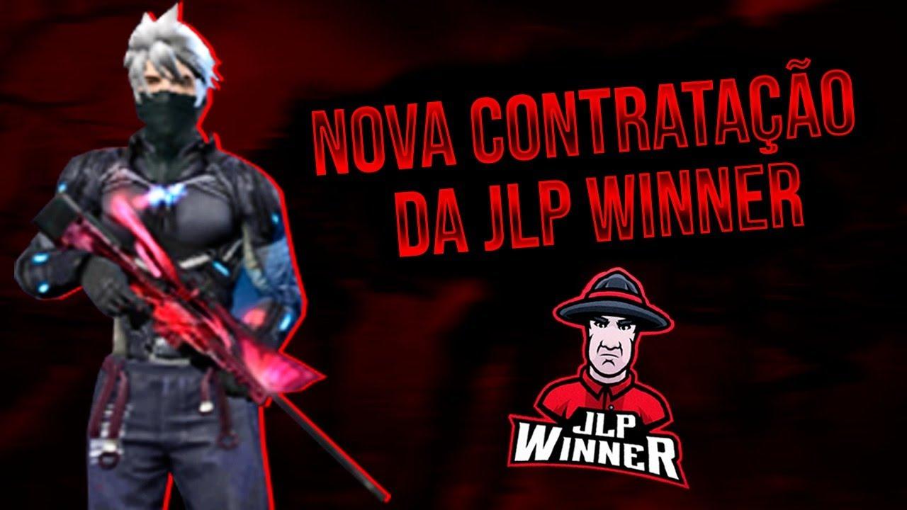 FREE FIRE AO VIVO - NOVA CONTRATAÇÃO DA JLP WINNER / JOGANDO CAMPEONATO