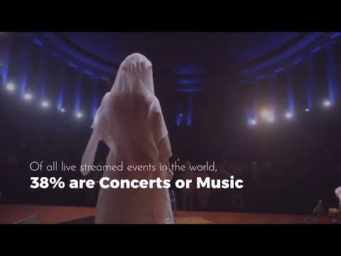 Streamography Concerts - Live Streaming your concerts to a global audience!