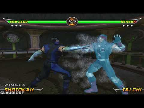 Mortal Kombat Armageddon SUB-ZERO - (PS2)【TAS】
