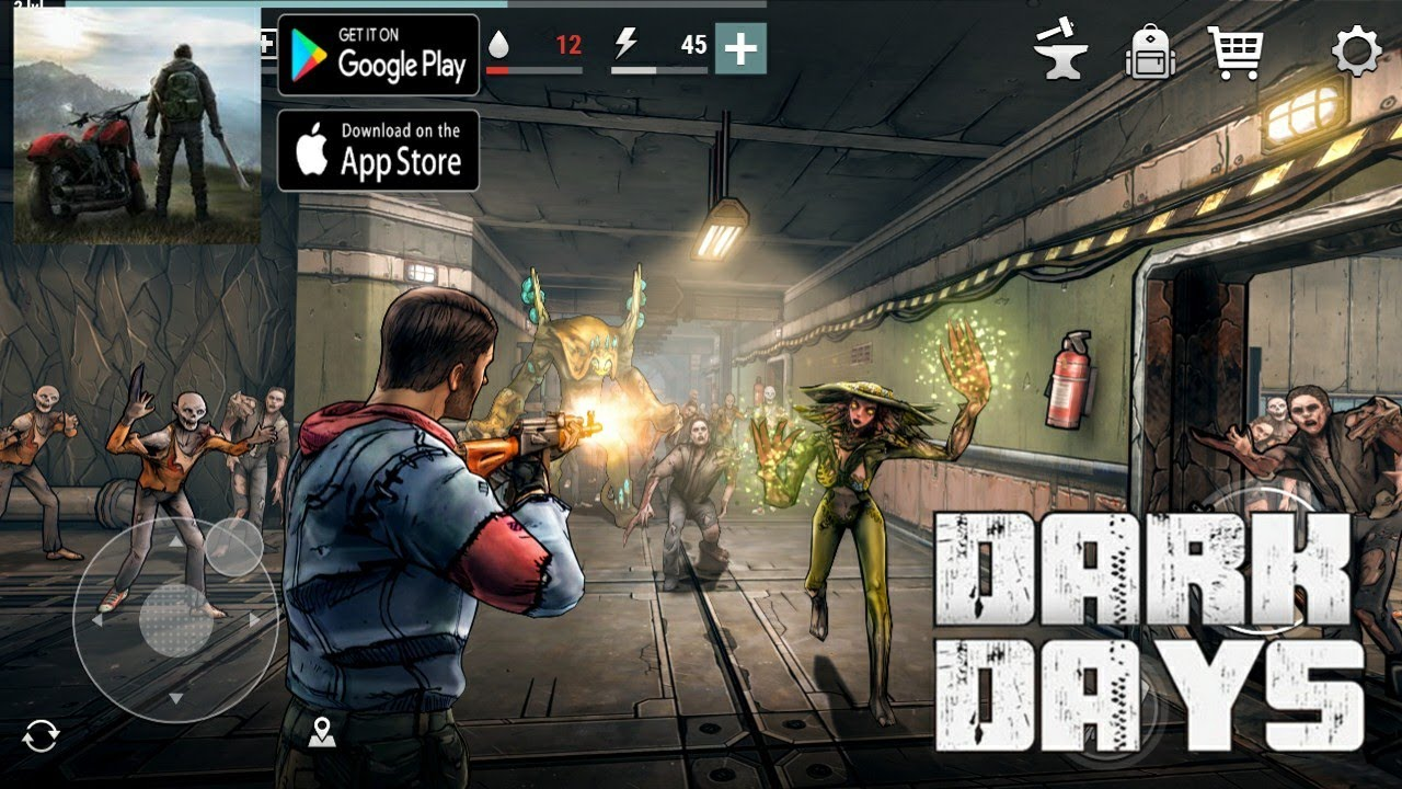 Dark Days: Zombie Survival (Android) Gameplay - YouTube