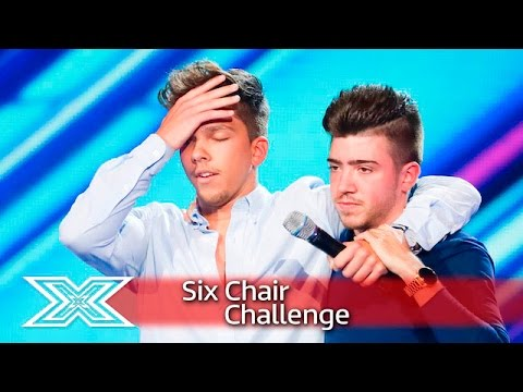 Christian Burrows and Matt Terry sing for their seats | Six Chair Challenge | The X Factor UK 2016