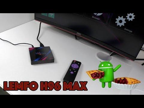 ТВ приставка LEMFO H96 Max на ANDROID 9