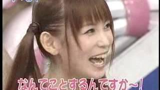 説明 中川翔子ブーブークッションどっきり 2008年.
