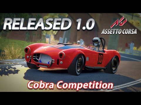 Assetto Corsa 1.0 [HD] [G27] Shelby Cobra Competition @ Longford 67